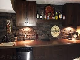 Kitchen Backsplash Ideas Pictures by Kitchen Garden Stone Kitchen Backsplash Tutorial How To Stacked