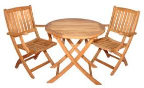 Round Teak Table And Chairs How To Clean And Care For Teak Furniture Wayfair