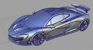mclaren drawing mclaren p1 alias tutorial on behance