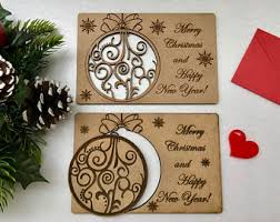cards personalised wooden greeting cards wood