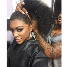 porsha hair product porsha williams shows off her all natural hair nene leakes