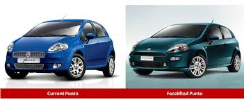 fiat punto fiat punto facelift caught testing launch in 2nd half of 2014