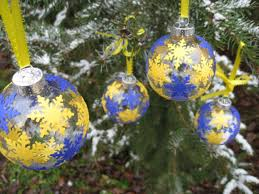 of michigan wolverines tree ornaments