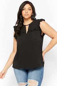 black and white blouses plus size tops crop tops shirts camis tees more forever21