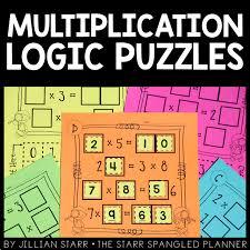 10 multiplication math center games u0026 activities