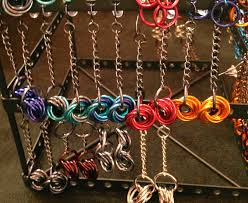 color jump rings images Margaux chainmaille earrings miss nyet jpg