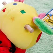 Ladybug Rocking Chair Lulu Ladybug With Sound Rocking Toy Hayneedle