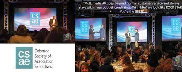 audio visual equipment u0026 services large event services englewood co multimedia audio visual