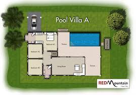 villa plan boutique villa a mountain hua hin