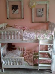 toddler bunkbed just get two toddler beds and attach using l
