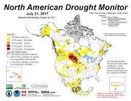 Usa Drought Map by Activities North American Drought Portal