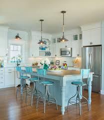 blue bar stools kitchen furniture furnitures cool white kitchen with white cabinet also soft blue