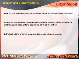 hazardous materials classification table dot hazmat training imdg