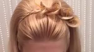 bun hairstyles braided side bun hairstyle video 2017