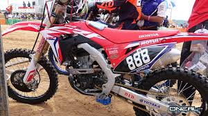 trials and motocross news events first look 2018 honda crf250r transworld motocross