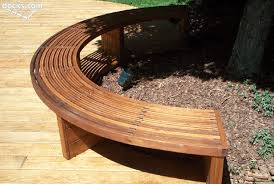 pleasant how to build a curved bench fresh at backyard decoration