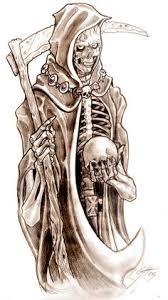 grim reaper sketch tattoo pinterest grim reaper sketches