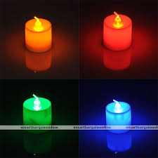 Light The Bedroom Candles Led Battery Operated Flameless Candles Tea Light Lamp Light The