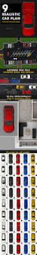 car plan view set by arthinker graphicriver
