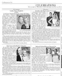 wedding announcement template newspaper wedding announcement exles announcements in the