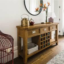 Oak Sofa Table Hill Wine Sofa Table
