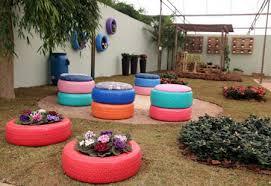 Garden Wall Paint Ideas 8 Tire Garden Ideas You Must Look On Balcony Garden Web