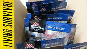 Mountain House Food by Mountain House Freeze Dried Food Youtube