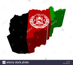 Green Black Red Flag Flag Afghanistan Geography Map Atlas Map Of The World Green Black