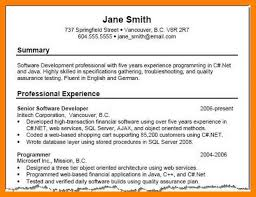 summary for resume exles exles of summary for resume magnificent 9 professional summary