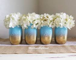 baby shower centerpieces ideas for boys baby blue baby shower decorations baby shower jars