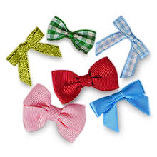pre bows fabric bows top your gift in high style