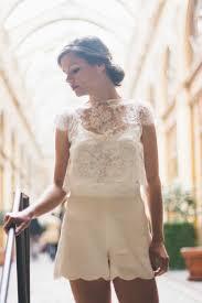 combishort mariage 10 combishorts craquantes et élégantes imaginées pour une mariée
