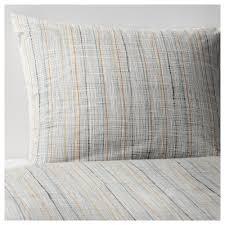 vÅrÄrt duvet cover and pillowcase s beige thread count 250 inch²