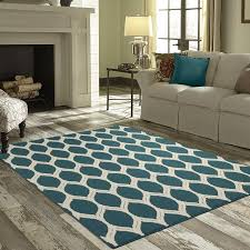 Living Room With Area Rug - mainstays sheridan ogee area rugs or runner walmart com