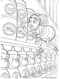 bee movie barry discovers honey stolen coloring