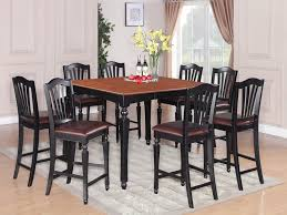 black bar height dining set best bar height dining table sets