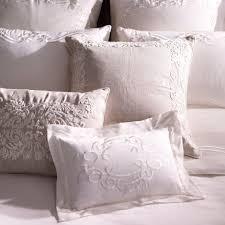 ethan allen bedding corded floral scroll linen pillow ethan