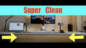 Laptop Desk With Speakers How To Cable Management For Desk Pc Laptop Speakers And More