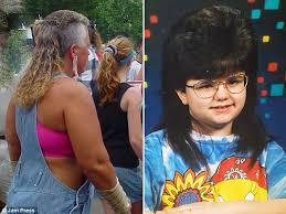 mens hair styles of 1975 funny pictures show hilariously bad mullet hairstyles daily mail