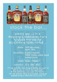 stock the bar shower groom s shower stock the bar party ellyb events for the