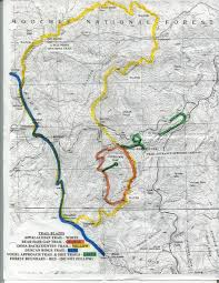 Pennsylvania State Parks Map by Coosa Bald Via Vogel State Park N2backpacking Com