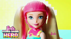 barbie video game hero doll commercial