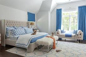 Blue Curtains Bedroom Blue And White Bedroom Curtains Asio Club