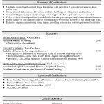 Professional Summary On Resume Resume Professional Summary Examples Teacher Sample Customer In