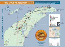 Map Of Northern Michigan by Maps U2013 Lake Superior Circle Tour