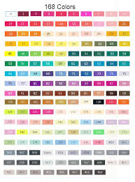 fine tip design marker pens 30 40 60 80 colored marcadores copic