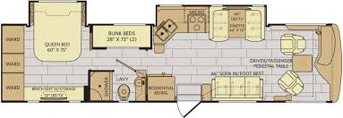 class a rv floor plans 12 must see bunkhouse rv floorplans welcome to the general rv