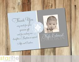 baptism thank you wording thank you card template christening thank you card template