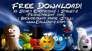 halloween monsters background free scary halloween emoticons smileys avatars and monsters