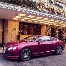 bentley metallic 2012 bentley continental gt coupe in passion pink metallic pink
